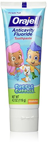 Orajel Bubble Guppies Anticavity Fluoride Toothpaste, 4.2 Ounce