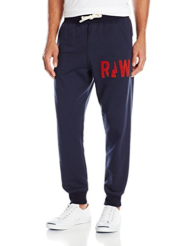 G-Star Raw Men's Grount Sweat Pants In Sherland Sweat Sara Blue