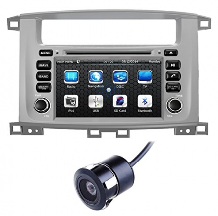 Crusade 7 Inch for Toyota Land Cruiser 100 (1998-2007) / LC 100 / Lexus LX 470 in Dash HD Touch Scre