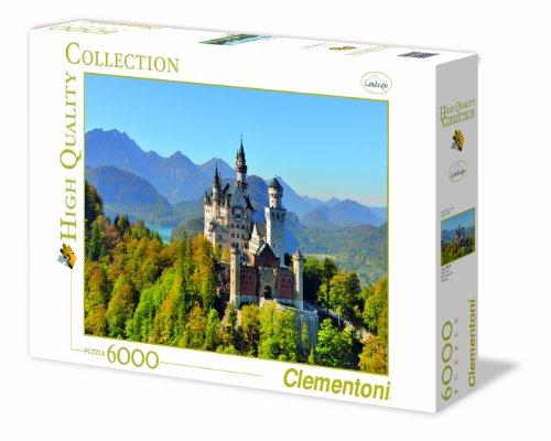 Clementoni Neuschwanstein 6000 Piece Jigsaw Puzzle