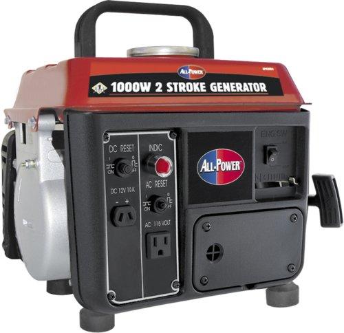 All Power America APG3004, 800 Running Watts/1000 Starting Watts, Gas Powered, Portable Generator