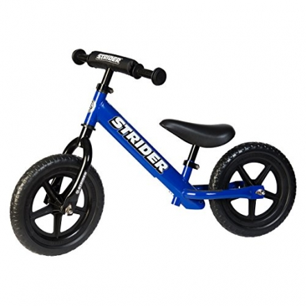 Strider – 12 Sport Balance Bike, Ages 18 Months to 5 Years – Blue