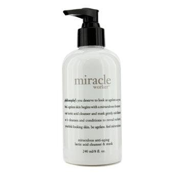 Philosophy Miracle Worker Lactic Acid Cleanser-8 oz.