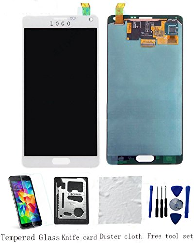 OEM Original Genuine Samsung Galaxy NOTE 4 LCD Display Screen Touch Digitizer Assembly Replacement +