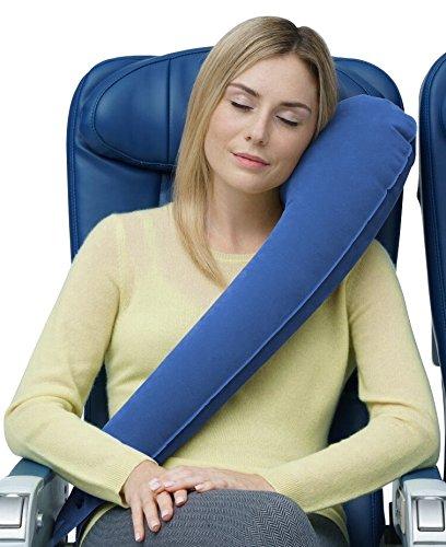 Travelrest – Ultimate Travel Pillow – Lean Into It & Sleep – Ergonomic, Patented