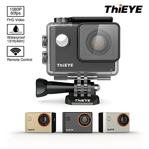 ThiEYE i60 Action Camera 4K Waterproof Camera Sports Camera 1080P 60fps WIFI Full HD 1.5 Inch Helmet