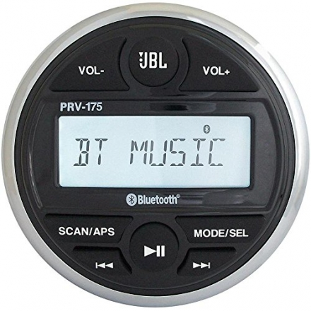 JBL PRV-175 Marine digital media receiver with built-in Bluetooth