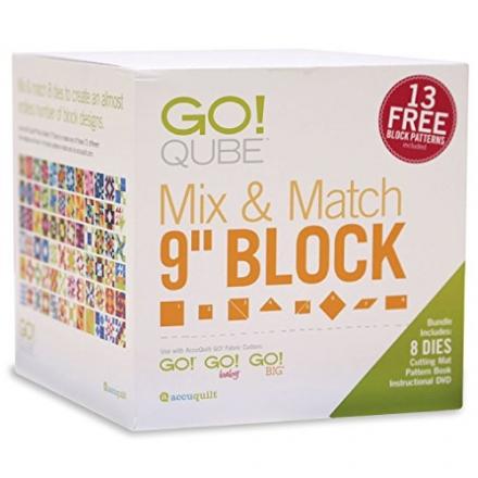 AccuQuilt GO! Qube Mix & Match 9″ Block