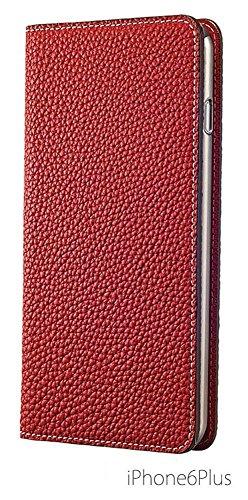 iPhone 6S Plus/6 Plus Case, [BONAVENTURA] BEST SELLER! Genuine Leather Wallet Case, Slim Fit Diary L
