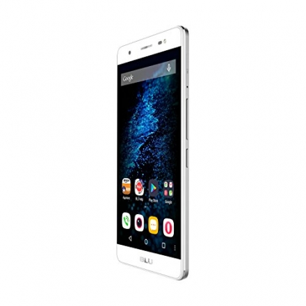 BLU Energy X Plus Smartphone – With 4000 mAh Super Battery- US GSM Unlocked – Silver