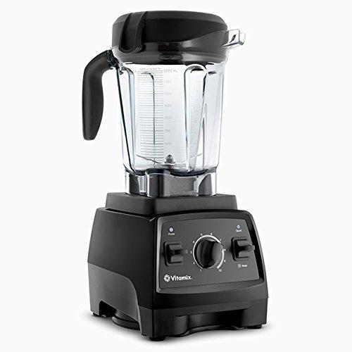 Vitamix 7500 Blender with Low Profile Jar, 2.2 HP Motor, Black