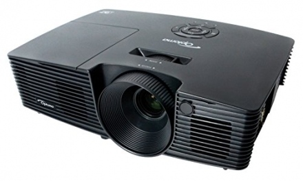 Optoma S316 Full 3D SVGA 3200 Lumen DLP Projector with Superior Lamp Life and HDMI
