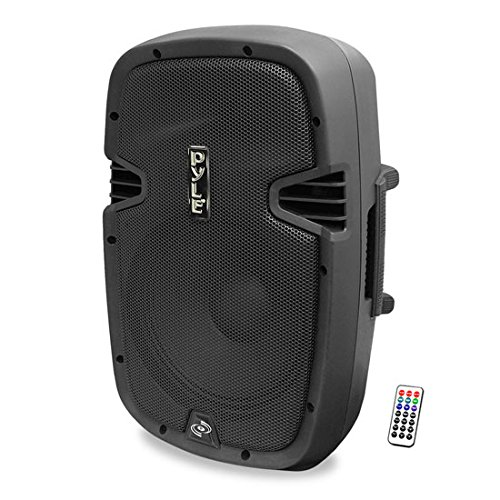 "Pyle PPHP1247UIB Bluetooth 1200 Watt 12"" PA Speaker System, 2-Way Full Range, Class-D, Built-in 30"