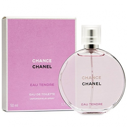 C H A N E L Chance Tendre Eau De Toilette Spray 1.7 Oz.