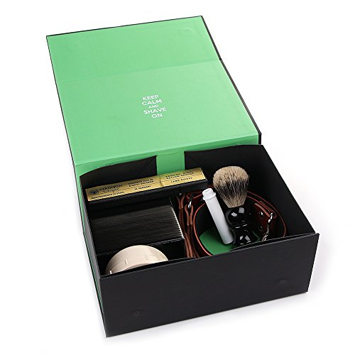 Dovo 5/8″ Half Hollow Best Quality Straight Razor Shaving Set