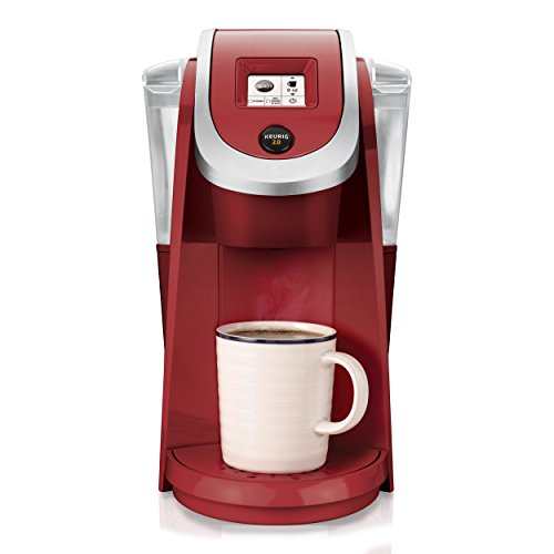 Keurig K250 Coffee Maker, Imperial Red (New Packaging)