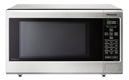 Panasonic NN-SN643SAZ Stainless 1.2 Cu. Ft. Countertop/Built-In Microwave Oven with Inverter Technol