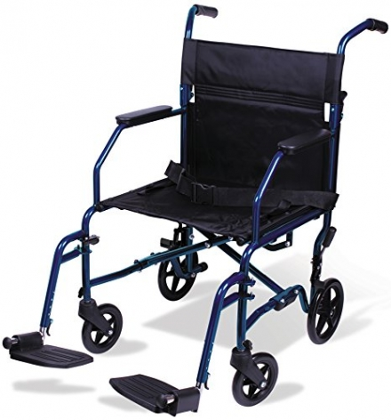 Carex Health Brands Transport Chair