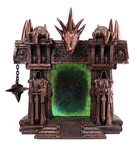 Generic World of Warcraft Dark Portal Statue Figurine Photo Frame Resin New Arrival for Collection