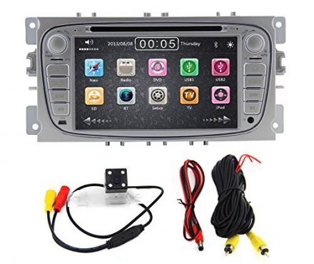 Zestech 7 inch For FORD/FOCUS 2 /MONDEO/S-MAX/CONNECT 2008-2011 In Dash HD Touch Screen Car DVD Play