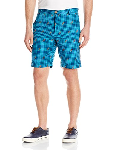 Robert Graham Men's Lizards Woven Short
