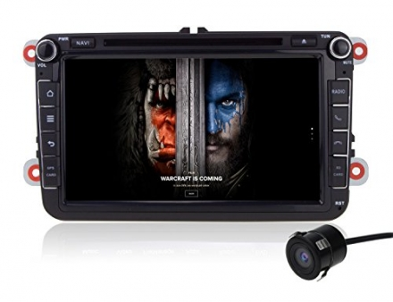 Volsmart 8 inch Android 5.1 Car DVD GPS Navigation for VW Volkswagen Quad Core 1024*600 Capacitive S