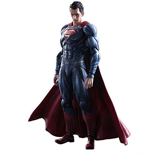 Play Arts Kai – Batman vs Superman Movie Dawn of Justice Superman Complete Scale Action Figure Model