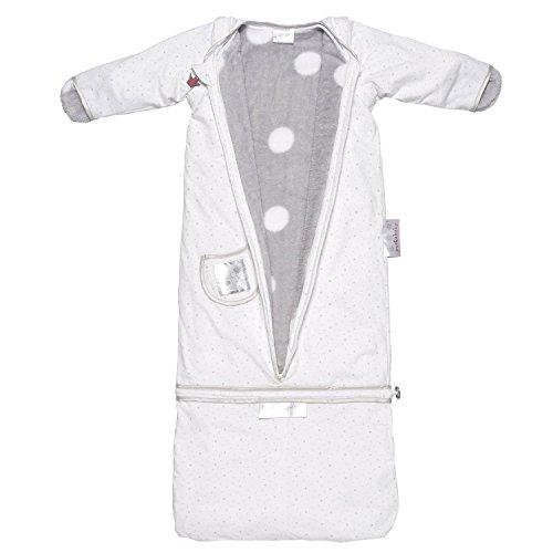Puckababy The Bag 4 Seasons Baby Sleeping Bag Sleep Sack 7m-2.5yrs White Star