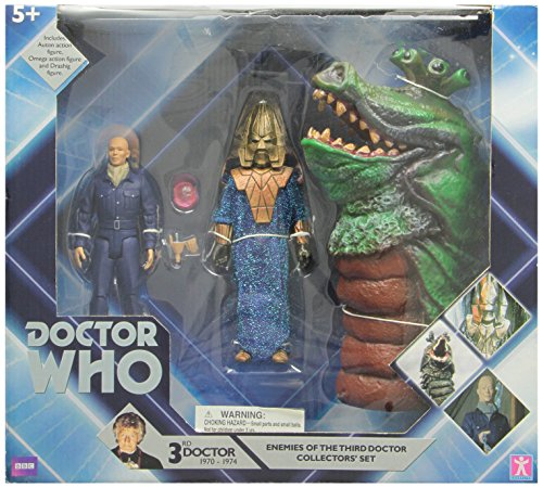 Doctor Who Enemies of the 3rd Doctor Action Figure