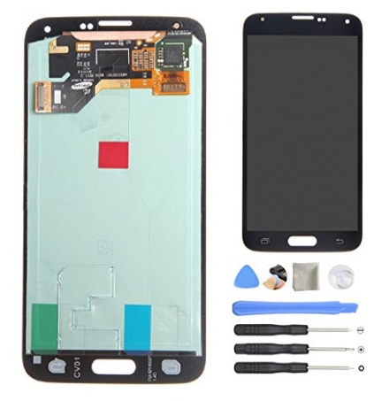 AOWIN® OEM Replacement LCD Display Screen Touch Digitizer Assembly for Samsung Galaxy S5 SM G900 G9