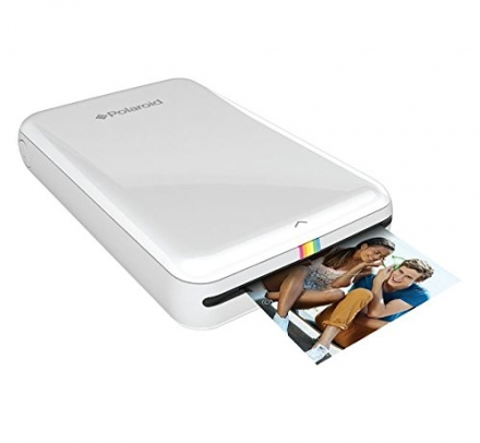 Polaroid ZIP Mobile Printer w/ZINK Zero Ink Printing Technology – Compatible w/iOS & Android Devices