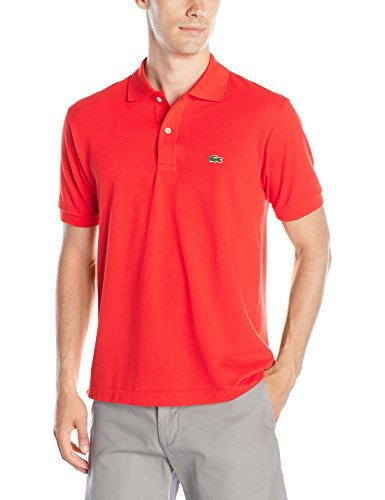 Lacoste Men's Short Sleeve Classic Pique Polo Shirt