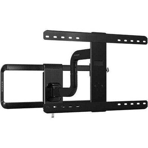 SANUS Premium Series Full-Motion Mount for 51 to 70″ Flat-Panel TVs & Monitors (Black)