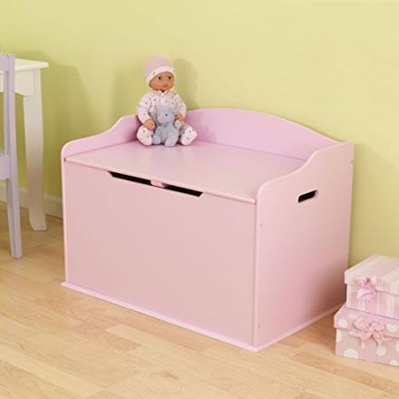 KidKraft Austin Toy Box, Pink