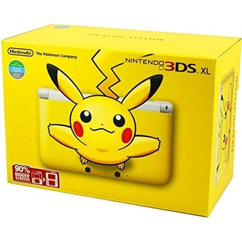 Nintendo 3DS XL – Yellow Pikachu