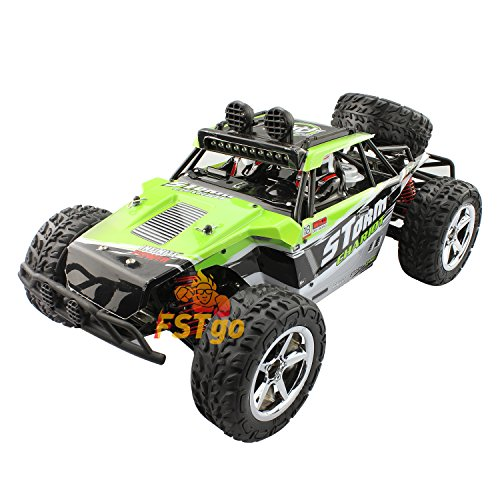 RC Car, FSTgo BG1513A High Speed Car Crawlers 1:12 Scale Off Road Car Monster Truck Vehicle with LED