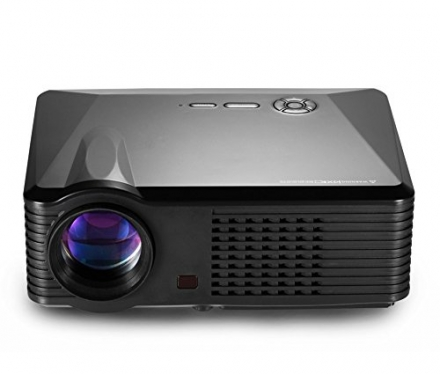 FastFox 800×480 LED LCD 2500 Lumen Full HD Mini Projector Multimedia Beamer Protable Home Proyector