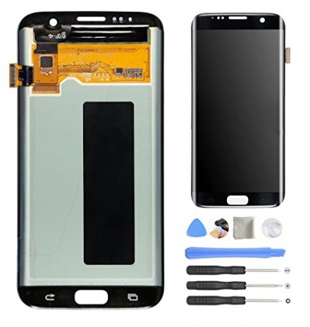 AOWIN® Replacement LCD Display Screen Touch Digitizer Assembly for Samsung Galaxy S7 Edge 5.5 inch