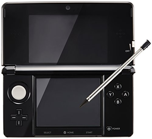 Nintendo 3DS clear black (Japanese Imported Version – only plays Japanese version games)