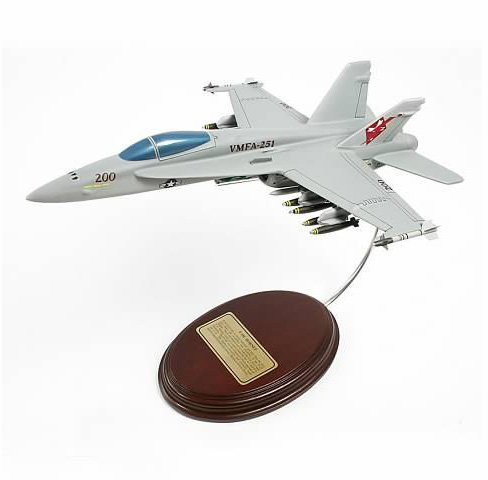 Mastercraft Collection F-18C Hornet USMC VMFA-251 Scale: 1/56