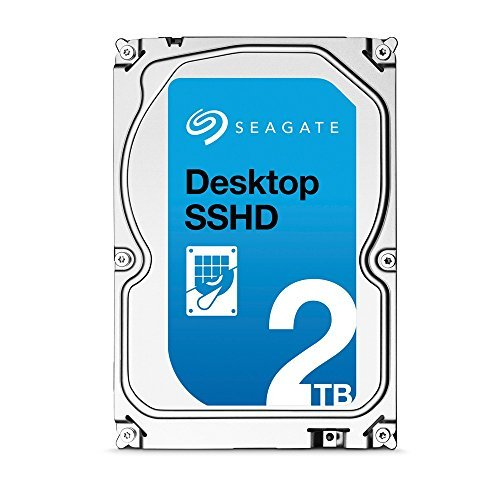 Seagate 2TB Desktop Gaming SSHD(Solid State Hybrid Drive) SATA 6Gb/s 64MB Cache 3.5-Inch Internal Ba