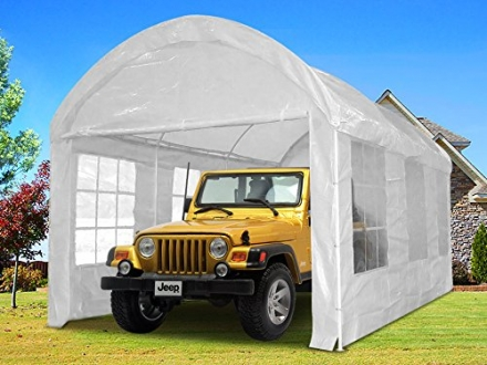 Limited Time& Qty Sale! Quictent 20×10 Heavy Duty Portable Carport Canopy Garage Car Shelter Party T
