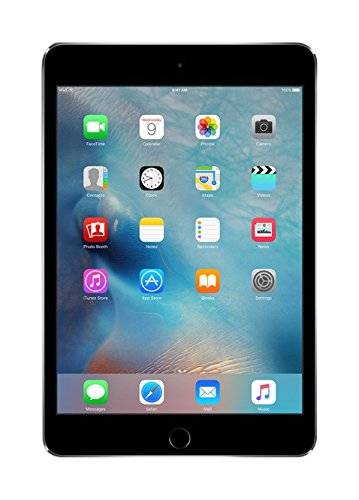 Apple iPad Mini 4 MK9G2LL/A 7.9-Inch Multi-Touch Retina Display, 64GB (Space Gray)