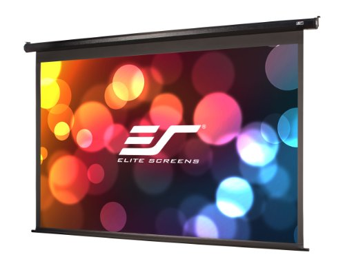 Elite Screens Spectrum, 84-inch 16:9, 4K Home Theater Electric Motorized Drop Down Projection Projec