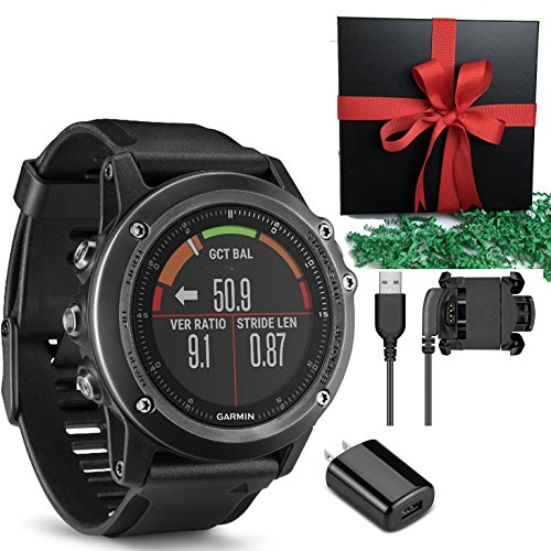 Garmin Fenix 3 HR, Gray GPS Activicty Tracker Sports Compas Watch IN GIFT BOX