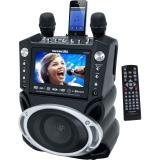 Karaoke USA GF830 Karaoke System with 7″ TFT Color Screen, Record Function & Bluetooth(r)