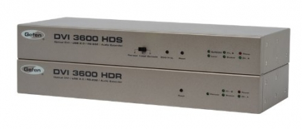 DVI 3600HD Optical DVI/ USB 2.0 / RS-232/ Audio Extender