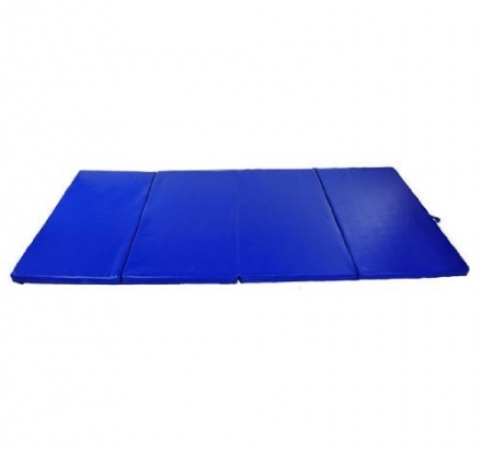 Soozier PU Leather Gymnastics Tumbling/Martial Arts Folding Mat