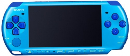 SONY PSP Playstation Portable Console JAPAN MODEL PSP-3000 Piano Marine Blue Value Pack | PSPJ-30027