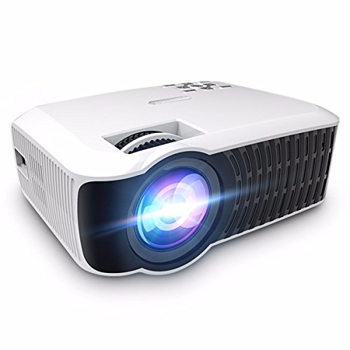 WiFi Projector,ELEGIANT 3000 Lumens Bluetooth Wireless Projector Support 1080P HDMI/USB/AV/SD/VGA,Ma